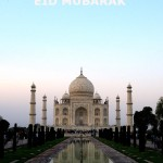 Eid-Mubarak | photo of TajMahal